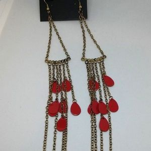 Chandelier Earrings String Drop/Dangle Chain 1288